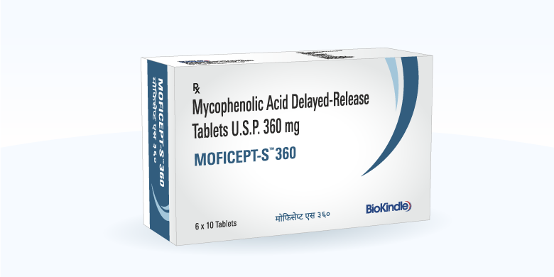 Mycophenolate Sodium 360 mg BioKindle